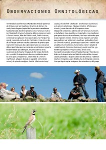 Conservationists and Horned Lark