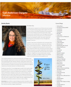 Featured on Gail Anderson-Dargatz's blog